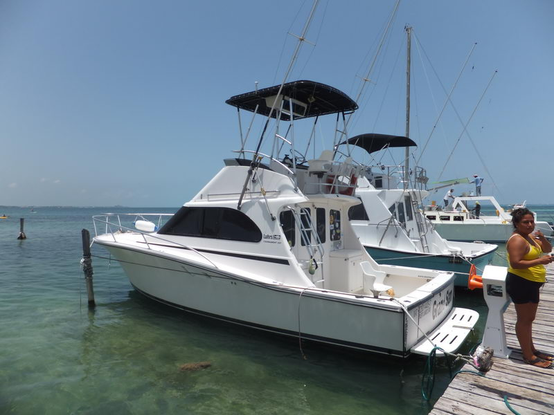 Barco de Pesca 30 pies