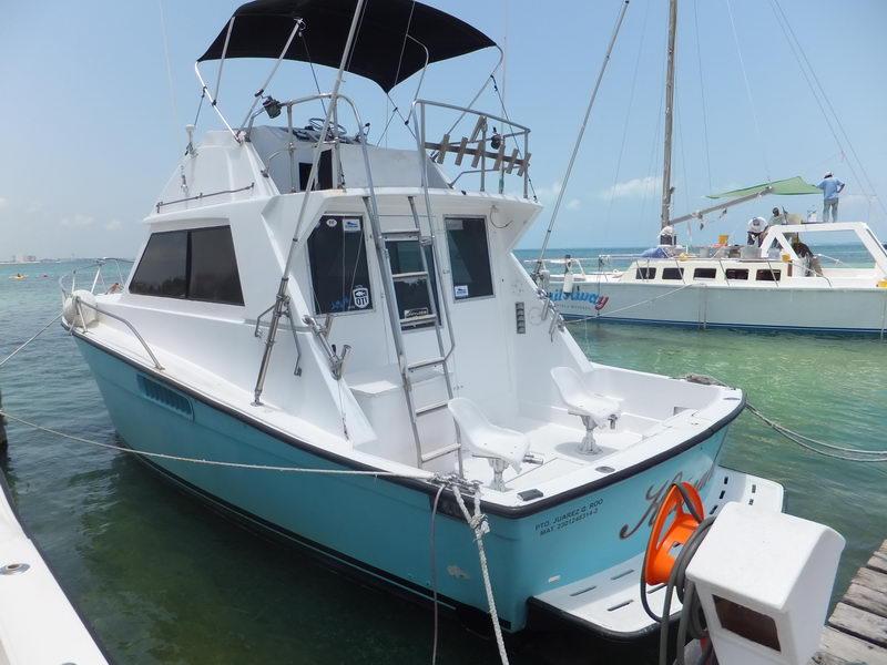 Pesca 30 pies en Cancun